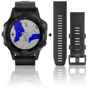 Reloj Fēnix 5 Plus Black Sapphire 010-01988-07
