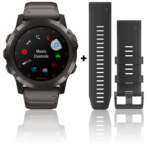 Reloj Fēnix 5X Plus Gray Sapphire Titane 010-01989-05