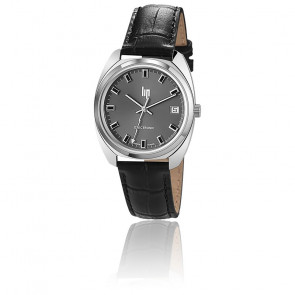 Reloj GDG Electrónico Cromo & Negro