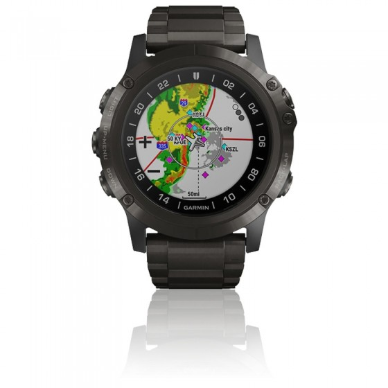 Reloj D2™ Delta PX Aviator Watch with DLC Titanium Band 010-01989-31