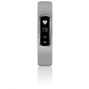 Reloj Vivosmart® Silver correa gris 010-01995-02