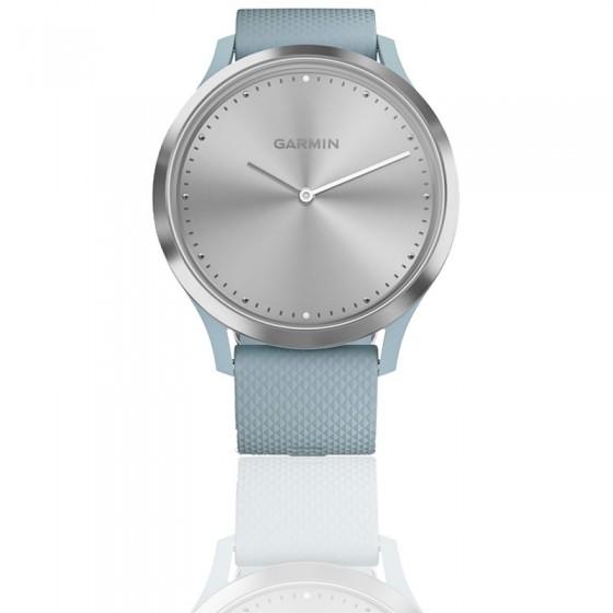 Reloj Vivomove HR Sport Silver correa silicona azul 010-01850-08