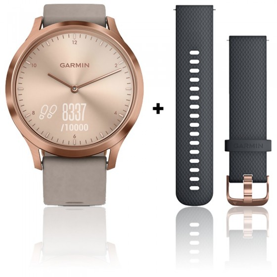 Reloj Garmin Vivomove HR Premium Rose Gold 010-01850-09 - Ocarat