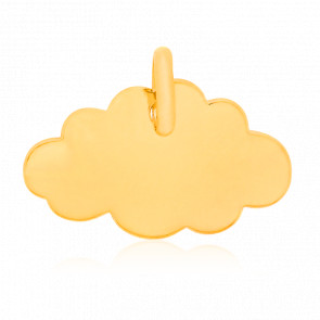 Colgante Little Cloud Oro Amarillo