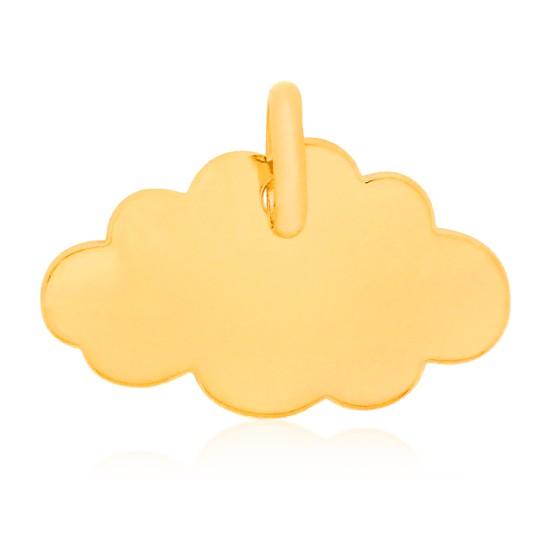 Colgante Little Cloud Oro Amarillo