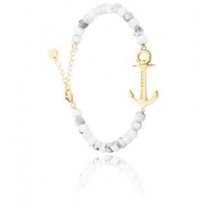 Bracelet Anchor Spirit Marble IP Doré
