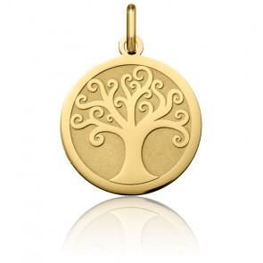 Colgante Árbol de la Vida Arabesco Oro Amarillo