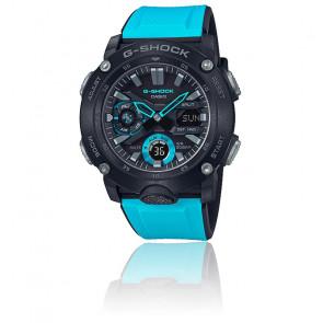 Reloj Casio G-Shock Serie de Carbono Azul GA-2000-1A2ER