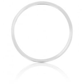 Colgante círculo Oro Blanco Ø 17mm
