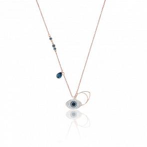 Collar Symbolic Evil Eye Azul, Mezcla de Baños