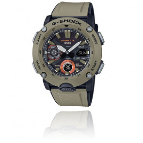 Reloj G-Shock Series-Carbon Core Guard Beige GA-2000-5AER