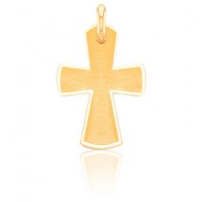 Cruz de Oro Amarillo 18K