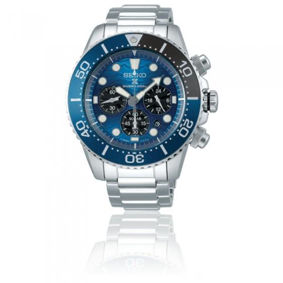 Reloj Prospex Save The Ocean Chronographe Quartz Solar SSC741P1