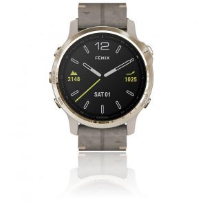 Reloj Fēnix 6S Sapphire Gold Tone Grise 010-02159-40