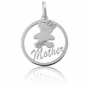"Colgante Osita ""Mother"" Plata"