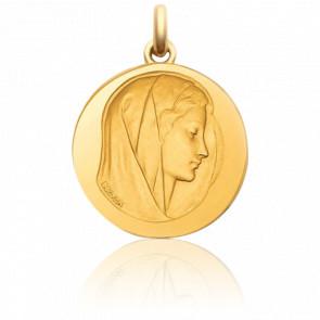 Medalla redonda Virgen Purísima