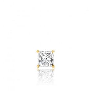 1pendiente Oro amarillo y Diamante