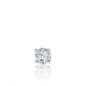 1pendiente oro blanco y diamante