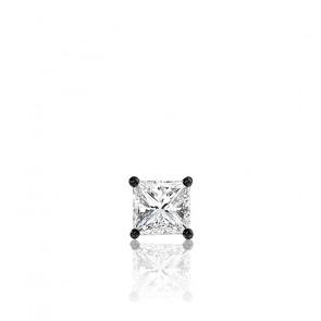 1pendiente Oro negro y Diamante