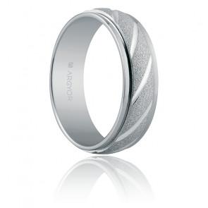 Alianza de plata Baraona  6 mm