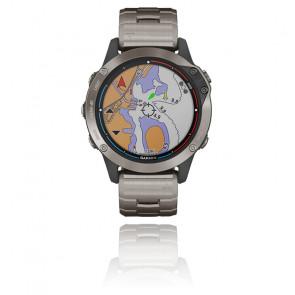 Reloj Quatix 6  Titanio Gris 010-02158-95