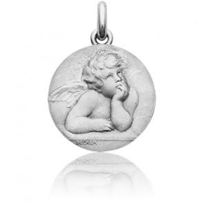 Medalla Angel Rafael Oro Blanco