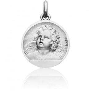Medalla Ángel Oro Blanco