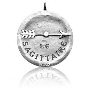 Medalla Zodíaco Signo Sagitario Plata– Becker
