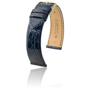 Correa Genuine Croco Azul 0180880