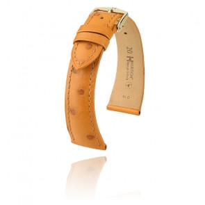 Correa miel de avestruz Massai 046275