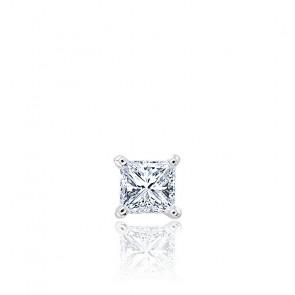1 pendiente oro blanco y diamante