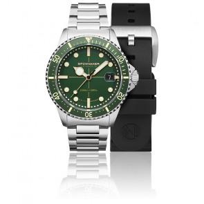 Reloj Tesei Mille Metri Hunter Green SP-5090-33