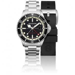 Reloj Tesei Mille Metri GMT Midnight Black SP-5091-11