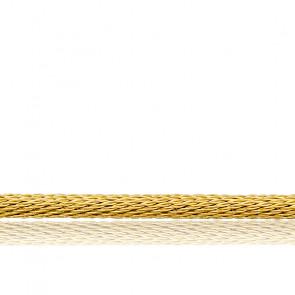 Collar acordonado Varna 50 cm Oro Amarillo 18K