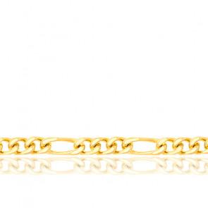 Cadena Figaro 1x3 40 cm Oro Amarillo