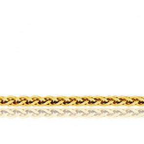 Cadena Espiga Abierta 40 cm Oro Amarillo 18K