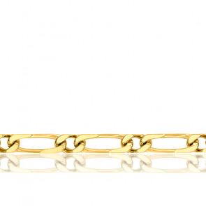 Cadena Bilbao 1x1 40 cm Oro Amarillo
