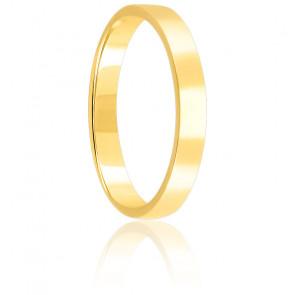 Alianza Bonheur 3 mm Oro Amarillo