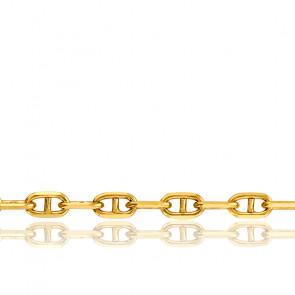 Pulsera Cadena Marina 20 cm Oro Amarillo