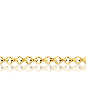 Cadena Rolo 40 cm Oro Amarillo