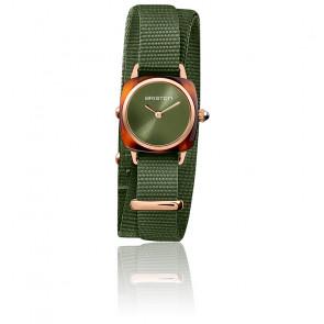 Reloj Clubmaster Lady Verde Oliva 21924.PRA.T.26.NOL