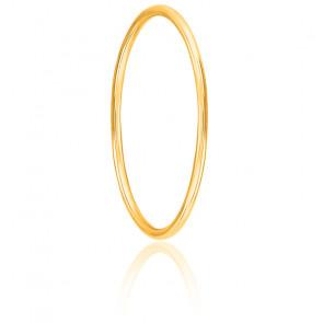 Pulsera Caña Redonda Diámetro 42 mm (13,4 cm), Oro Amarillo 18 kt