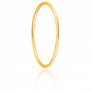 Pulsera Oro Amarillo 18k caña redonda 65mm