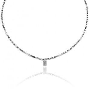 Collar George XS 60cm, Plata