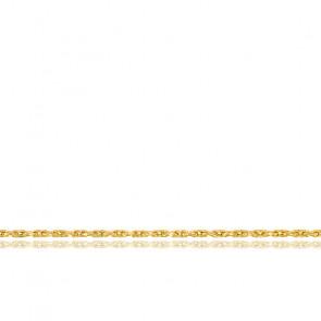 Cadena de malla fina, oro amarillo de 18 quilates