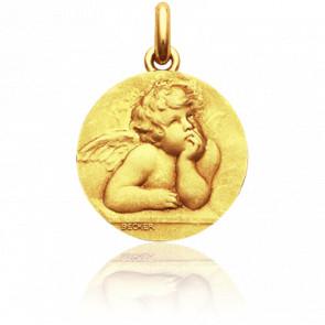 Medalla Angel Rafael Oro amarillo