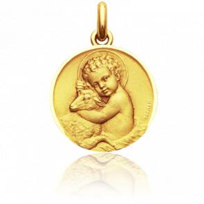 Medalla niño Jesús