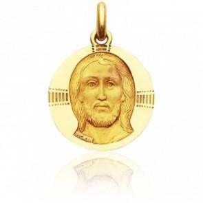 Medalla Cristo Bizantino