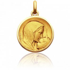 Medalla Virgen con el niño Jesús