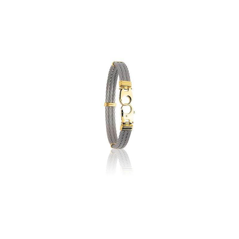 b200ff730e37 Pulseras de oro y acero de Emanessence - Ocarat